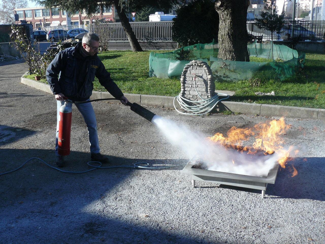 corsi addetto antincendio torino